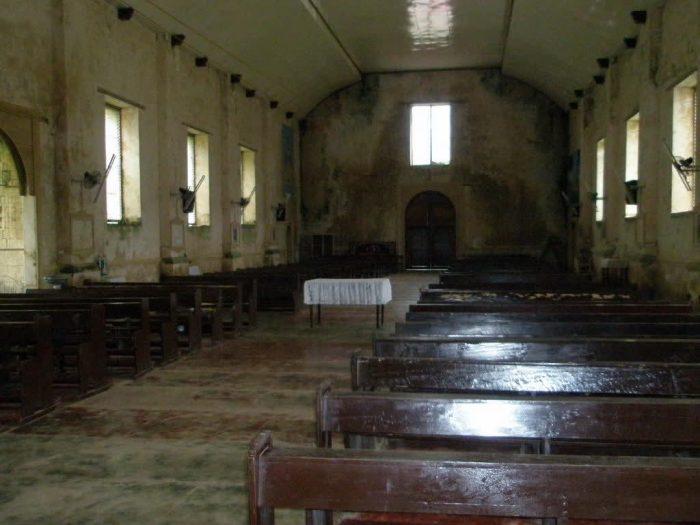 Пустая церковь